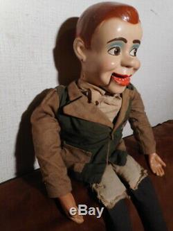 Poupée ancienne marionnette ventriloque américaine Paul Winchell Jerry Mahoney