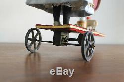 Poupée automate sur support mécanique à roulette gauthier, jumeau, Vichy