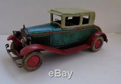 RARE CR ROSSIGNOL DELAGE D6 Coach de Luxe mécanique Réf 1003 TOLE 1928 38 cm