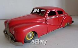 RARE JEP DELAHAYE Grand modèle MECANIQUE 34cm TOLE circa 1950 Réf 7585