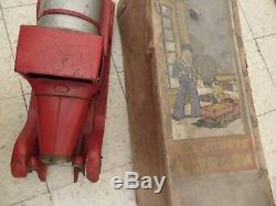 RARE JOUET CITROEN beau camion tôle citerne rouge