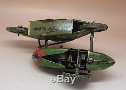 RARE PAYA ANCIEN SIDECAR PILOTE MECANIQUE TOLE D'ORIGINE 1935 no DISTLER