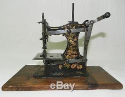 Rare Ancienne Machine A Coudre De Poupee Jouet En Tole Sewing Machine Toy