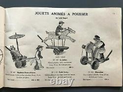 Rare Catalogue CIJ Compagnie Industrielle du Jouet 1934 ALPHA ROMEO P2