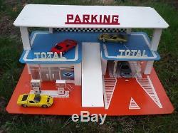 Rare Garage Station Service Total Idem Depreux 1970 Pour 1/43
