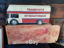 Rare Grand Camion Joustra Le Routier 432 En Boite D Origine