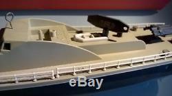 Rare-JEP-Bateau mécanique garde-côtes P 929 dans sa boîte d'origine