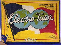Rare Jouet Ancien Citroen Jeu Electro Tutor Auto Electrographe Berline C. 1930