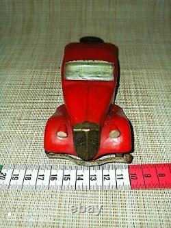 Rare Jouet Ancien Citroen Traction Avant Roadster 1/25 Mecanique Années 30
