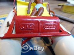 Rare Pédalo de la marque JEP 1959/1961 avec sa boîte d'origine