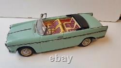 Rare Peugeot 404 cabriolet comme neuve Joustra jouet ancien en tôle