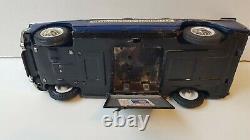 Rare Peugeot 404 gendarmerie en superbe état Joustra jouet ancien en tôle