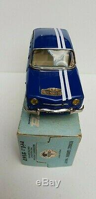Rare Renault 8 Gordini Joustra En Boite Jouet Tole Ancien