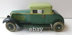 Rare Renault faux cabriolet JEP jouet ancien en tôle époque JRD CIJ