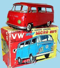 Rare SK New Micros Bus VW / Japan 1960s Livraison dans le Monde entier