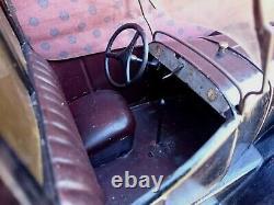 Rare Taxi B2 Tole Jouet Andre Citroen Tres Bon Etat Complet Cij Jep Cr Jrd