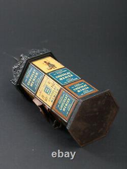 Rare Tirelire Chocolat Menier Firmin Bouisset Jouet Ancien 1893