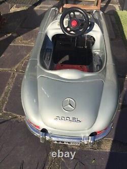 Rare Voiture Toys Toys Mercedes 300 Sl A Pedales Etat Correct Vintage 80's