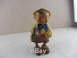 Rare ancien jouet mécanique, en composite, les jouets création, années 50