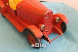 Rare camion pompier CIJ auto-pompe Ref10/6 en boite d'origine 48cm