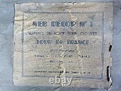 Rare circuit Tour de France NEB pour cyclistes Salza, Starlux 26 éléments