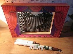 Rare jeu pré cinema theatre d'ombre jouet d'optique (pas praxinoscope zootrope)