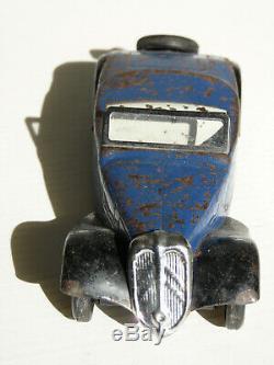 Rare jouet André CItroën traction cabriolet mécanique