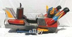 Rare sujet de manège Goldorak ATLAS UFO ROBOT 1980 vintage