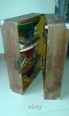 Rare valise de VRP Vogu'enmer Voilier Canot bateaux