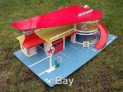 Rarissime Caltex Garage Sio Depreux Station Service Bel Etat D'origine
