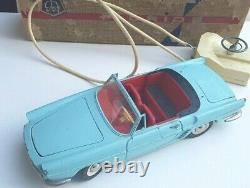 Renault Floride FJ France Jouet en boite d'origine jouet ancien tôle Joustra