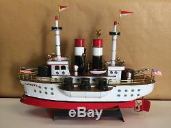 Retro 123 USS Liberty Battleship