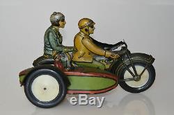 Rico sidecar motorcycle en état orginal