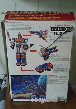 Robot Bandai Changeman DX Godaikin Forces 1985