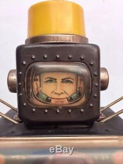 Robot Jouet Métal Fighting Spaceman Horikawa Japon vintage 60 collection