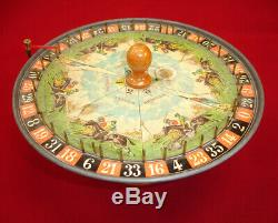 Roulette, loterie, jeu ancien