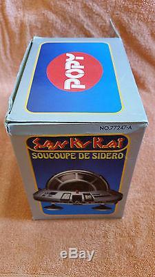 SAN KU KAI POPY Soucoupe de Sidero / époque goldorak / version francaise