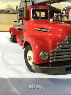 SCHUCO Camion de pompier 6080 Original avec boite
