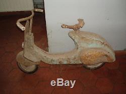 Scooter Voiture A Pédale Vespa Ancien
