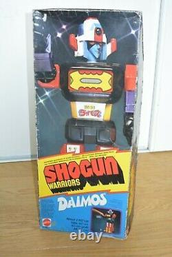 Shogun Warriors JUMBO Mattel Popy DAIMOS MIB (C0)