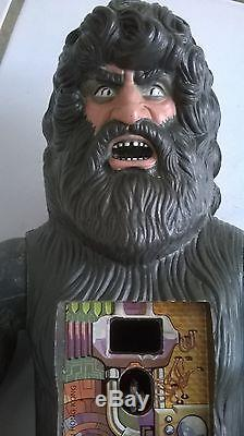 Six million dollar man Bigfoot Bionic kenner Rare 1977 complet loose