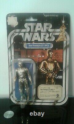 Star wars TAKARA japan no kenner no popy 12 back C-3PO 1977 general mills open