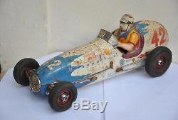Super Racer 42 Gem Montlhery Shell Jouet Ancien