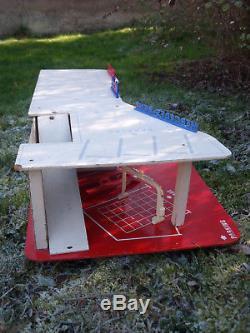 Superbe Garage Station Mobil Depreux 1970 Bel Etat For 1/43 Dinky Toys