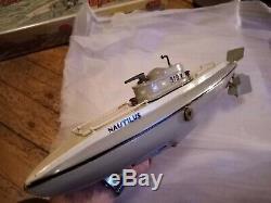 Superbe Sous marin mécanique NAUTILUS 919 JEP + boîte état d'origine