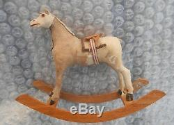 Superbe cheval miniature jouet poupée époque début 1900