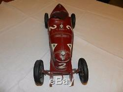 Superbe et rare Alfa Roméo P2 CIJ Premier modèle à direction à ressort 1933