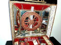 Superbe jeu ancien Loterie pour enfants de marque J. L. Paris. Vers 1900