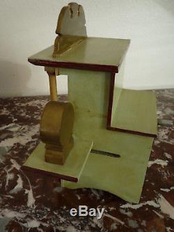 Superbe très rare ancien jouet orgue de barbarie Le Ludion musique mecanique