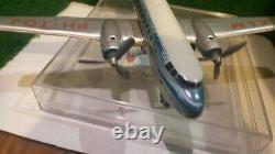 TCO Allemagne AVION biréacteur VICKERS jouet ancien à friction long 30 cm
